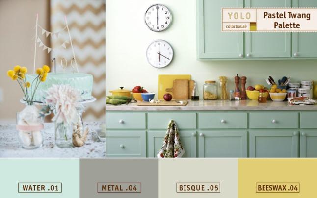 YOLO Colorhouse low odor, Zero VOC Paint Announces New Spring Color Palette Available at HomeDepot.com.  (PRNewsFoto/YOLO Colorhouse)