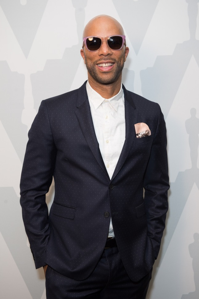 "Host Common prior to the Academy of Motion Picture Arts and Sciences' ""The Oscar Concert"" on Thursday, February 27, 2014 at Royce Hall in Los Angeles."