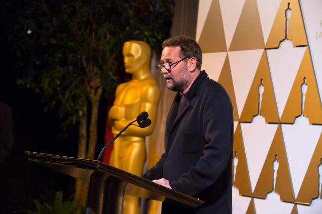 Cinematographer Phedon Papamichael at the reception for the Foreign Language Film Award category for the 86th Oscars®, on Friday, February 28, 2014. The Oscars® will be presented on Sunday, March 2, 2014, at the Dolby Theatre® in Hollywood, CA and televised live by the ABC Television Network.