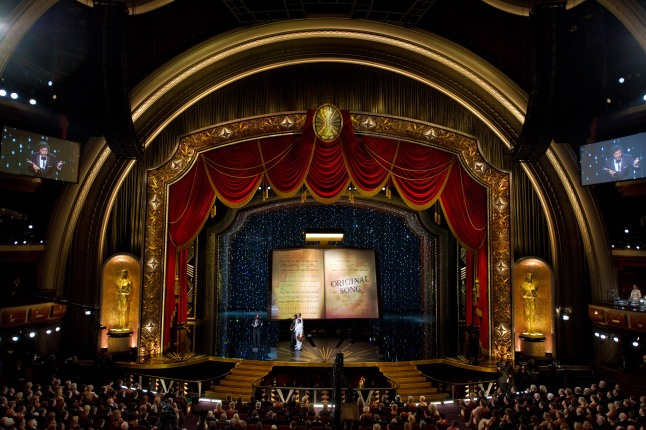 2012 Oscar Stage Design by John Myhre