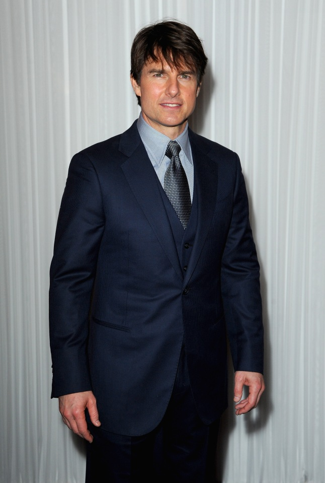 Tom Cruise attends the Jameson Empire Awards 2014 at the Grosvenor House Hotel on March 30, 2014 in London, England.