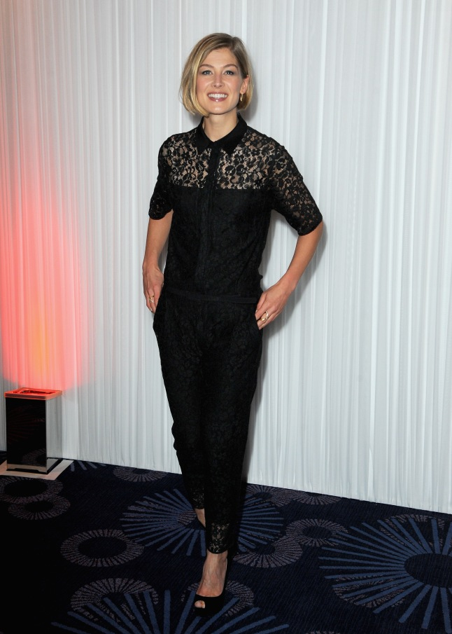 Rosamund Pike attends the Jameson Empire Awards 2014 at the Grosvenor House Hotel on March 30, 2014 in London, England.
