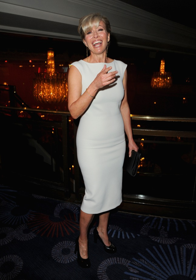 Emma Thompson attends the Jameson Empire Awards 2014 at the Grosvenor House Hotel on March 30, 2014 in London, England.