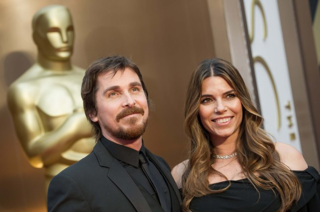 Oscar®-nominee Christian Bale and Sibi Blazic arrive for the live ABC Telecast of The 86th Oscars® at the Dolby® Theatre on March 2, 2014 in Hollywood, CA.