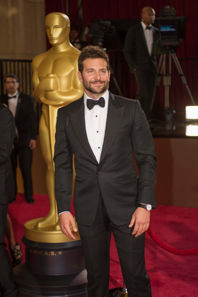 Oscar®-nominated actor Bradley Cooper arrives for the live ABC Telecast of The 86th Oscars® at the Dolby® Theatre on March 2, 2014 in Hollywood, CA.