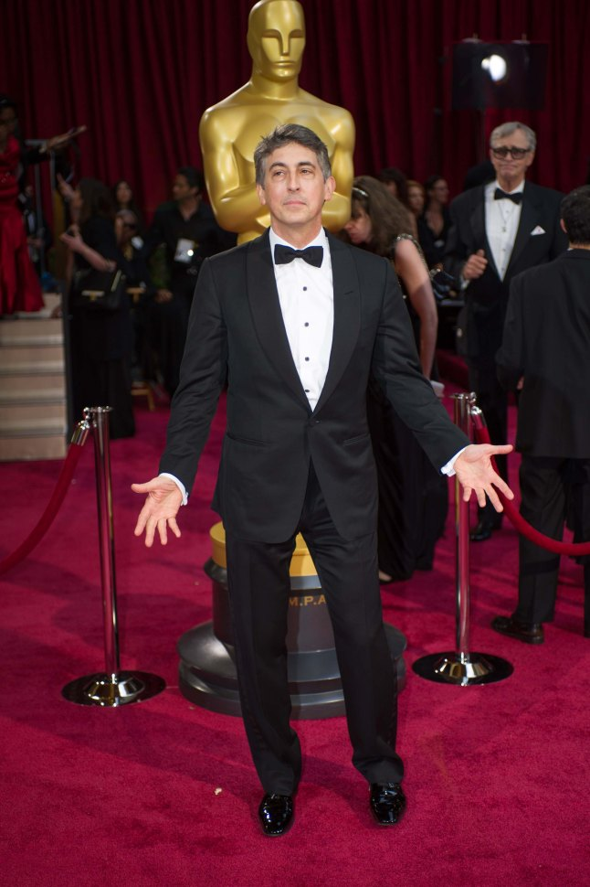 Oscar®-nominated director Alexander Payne arrives for the live ABC Telecast of The 86th Oscars® at the Dolby® Theatre o