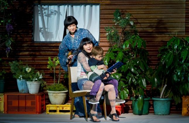 Anna Yun as Suzuki, Hiromi Omura as Madama Butterfly and Jayden Lai as Sorrow