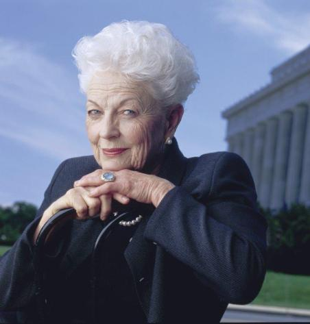 Governor Richards of the Lone Star State. There is no credit for this photo.