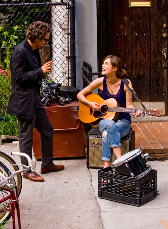 MARK RUFFALO and KEIRA KNIGHTLEY star in BEGIN AGAIN, formerly known as CAN A SONG SAVE YOUR LIFE