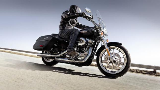 Harley-Davidson's new SuperLow(R) 1200T. For more information check out www.harley-davidson.com/superlow1200T.  (PRNewsFoto/Harley-Davidson Motor Company)