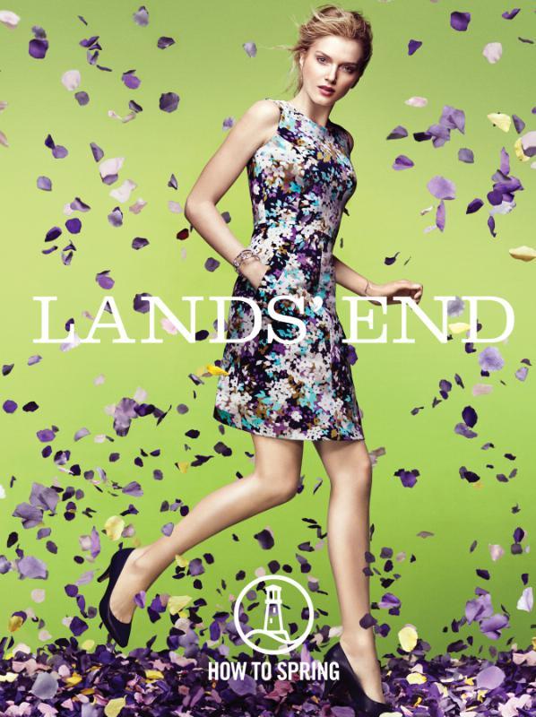 Lands' End How To Spring.  (PRNewsFoto/Lands' End)