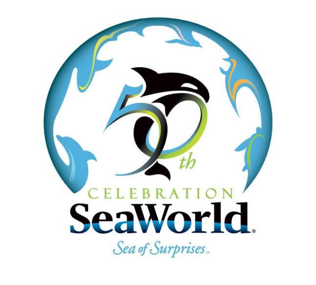SeaWorld's 50th celebration is a Sea of Surprises.  (PRNewsFoto/SeaWorld Parks & Entertainment)