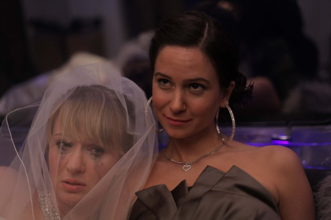 Kathryn & Petals, Halley Feiffer & Katherine Waterston. (Courtesy: Tribeca Film Festival)