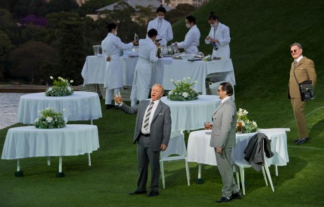 Michael Honeyman as Sharpless and Georgy Vasiliev as Pinkerton