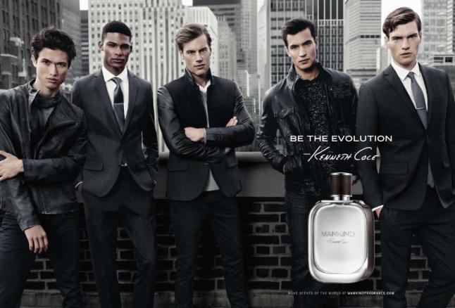 Kenneth Cole Introduces Mankind Fragrance. (PRNewsFoto/Parlux Ltd.)