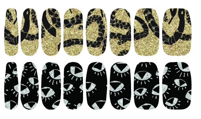 Nail Polish Art Strips