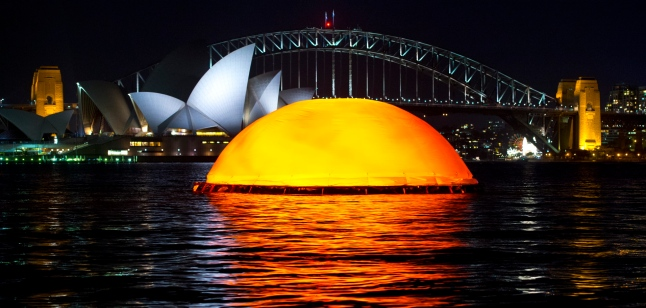 The Sun Begins to Rise on Sydney Harbour