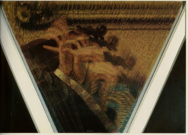 Giacomo Balla The Hand of the Violinist (The Rhythms of the Bow) (La mano del violinista [I ritmi dell'archetto]), 1912 Oil on canvas, 56 x 78.3 cm Estorick Collection, London © 2014 Artists Rights Society (ARS), New York / SIAE, Rome