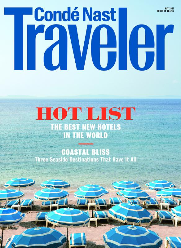 Conde Nast Traveler Announces 2014 Hot List (PRNewsFoto/Conde Nast Traveler)