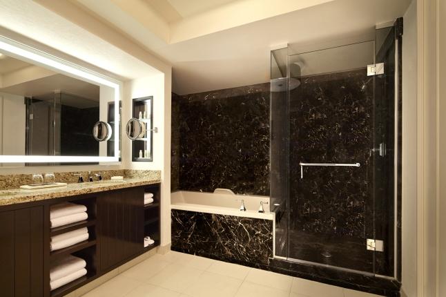 Delano Las Vegas - Bathroom - Wide - Rendering
