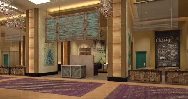 Delano Las Vegas - Cafe Concept - Rendering