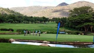BHW47Y Sun City Golf Course Northwest Province , Johannesburg,South Africa