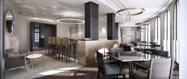 The Hotel's showpiece restaurant will be View, conceived as a gallery of culinary art where Chef and his team will be at their most creative