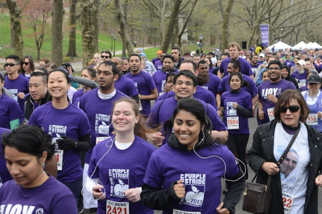 Join the fight against pancreatic cancer on April 12th at PurpleStride NYC 2014