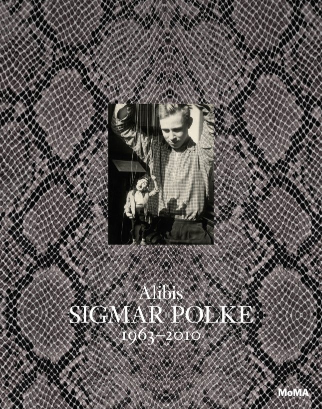 Cover of Alibis: Sigmar Polke 1963-2010, published by The Museum of Modern Art, 2014.