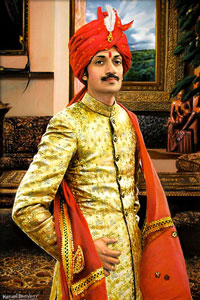 India's Crown Prince Manvendra