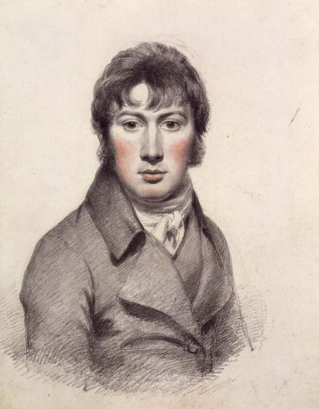 Self-portrait by John Constable, Pencil and black chalk heightened with white and red chalk,   Artist: John Constable  Date: c.1799-1804   Credit line: © National Portrait Gallery, London  Special terms: Constable: The Making of a Master