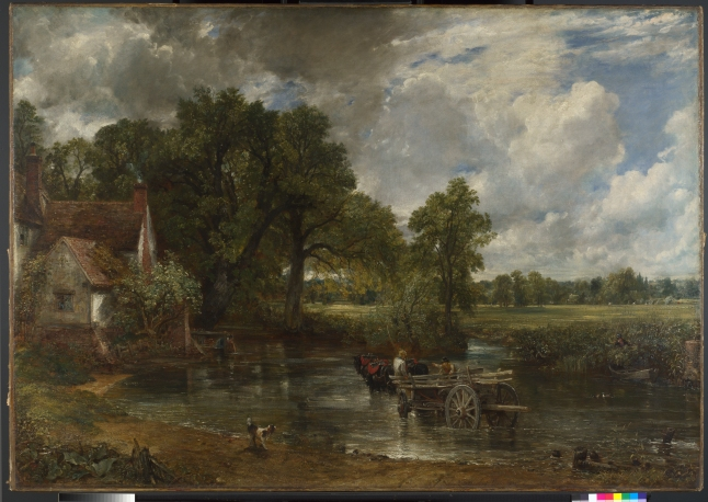 The Hay Wain,  Oil on canvas,  John Constable, 1821, © The National Gallery, London 2014