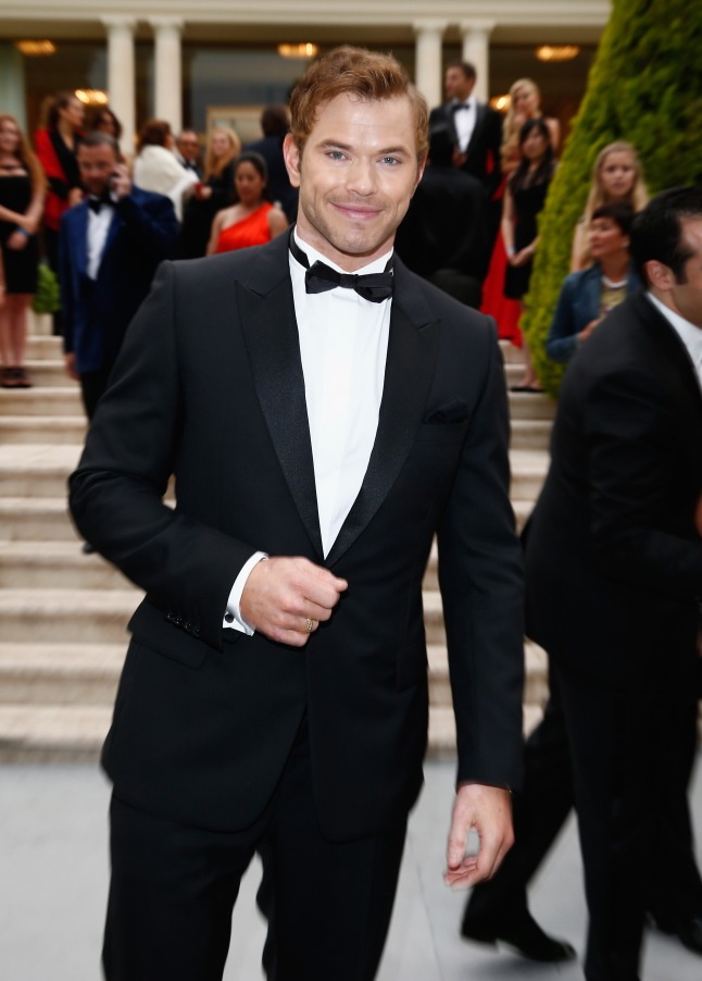 CAP D'ANTIBES, FRANCE - MAY 22:  Kellan Lutz attends amfAR's 21st Cinema Against AIDS Gala Presented By WORLDVIEW, BOLD FILMS, And BVLGARI at Hotel du Cap-Eden-Roc on May 22, 2014 in Cap d'Antibes, France.  (Photo by Andreas Rentz/amfAR14/WireImage)