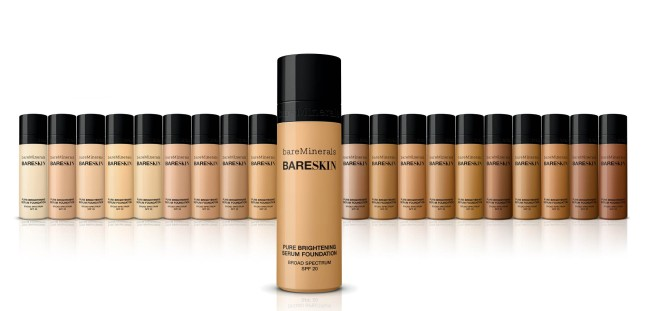 bareSkin™ Foundation in 20 Skin-Perfecting Shades