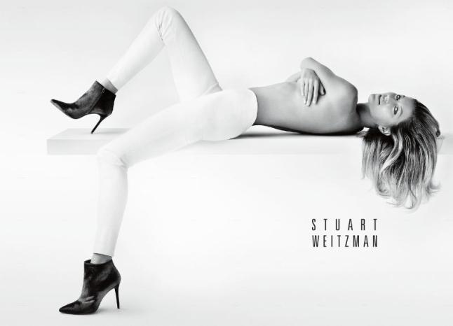 Stuart Weitzman Announces Gisele Bundchen as the New Face of Its Fall 2014 Campaign. (PRNewsFoto/Stuart Weitzman)