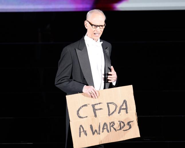 2014 CFDA Fashion Awards - Award Presentation with hos John Waters