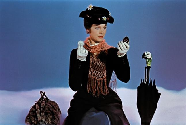Mary Poppins, 1964. Courtesy of The Walt Disney Company