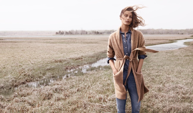 DARIA WERBOWY STARS IN MANGO'S FALL / WINTER 2014 CAMPAIGN marking her second consecutive season as the face of the Spanish retailer