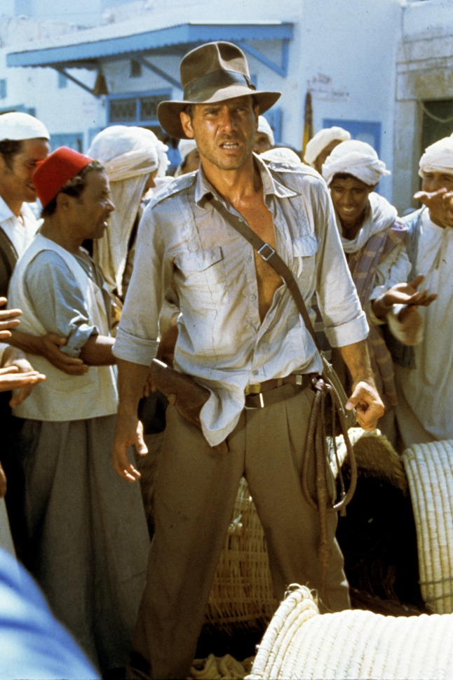 Raiders of the Lost Ark, 1981. credit: Courtesy of Lucasfilm Ltd