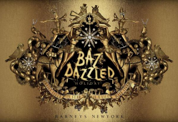 Barneys New York BAZ DAZZLED Holiday shopping bags (PRNewsFoto/Barneys New York)
