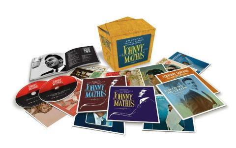 "Johnny Mathis ""The Complete Global Albums Collection"" to be released Nov 17th. (PRNewsFoto/Legacy Recordings)"