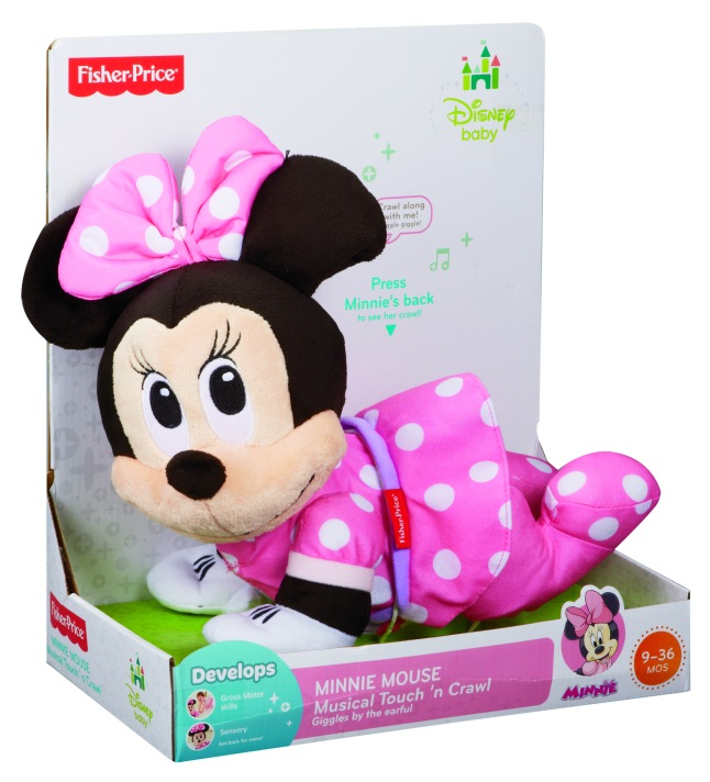 MINNIE MOUSE Musical Touch 'n Crawl (In Packaging) - C.Hung Yu photographer