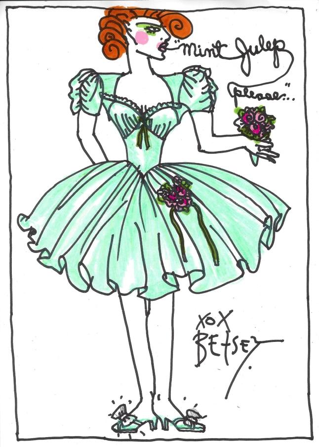 MintJulep-BJ SS15 Sketch