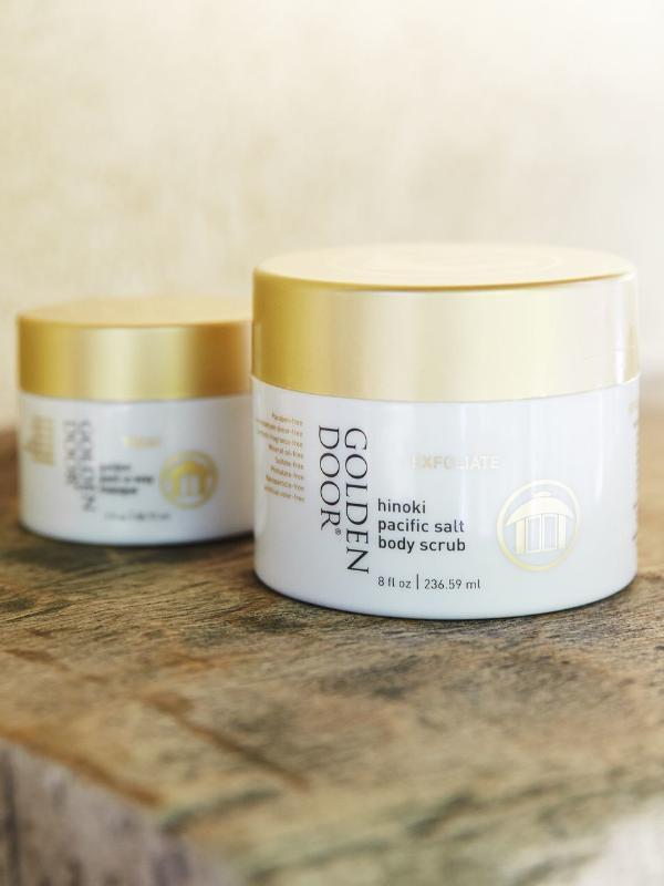 Golden Door Skincare, Photo credit: John Russo (PRNewsFoto/Golden Door)