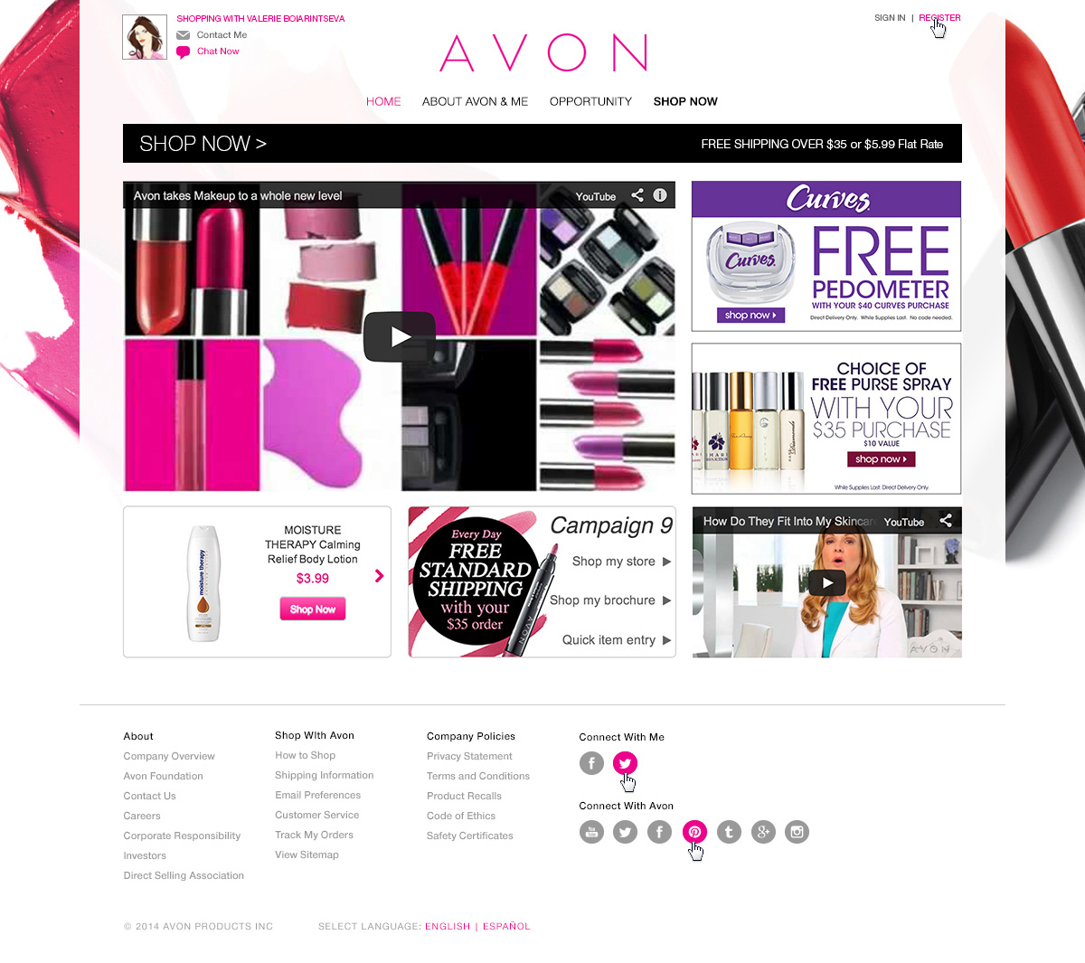 avon marketing analysis