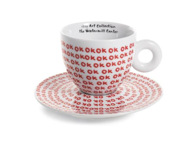 Illy Coffee Partners with Artist Robert Wilson to Launch a Special Edition Cup Collection (PRNewsFoto/illy)
