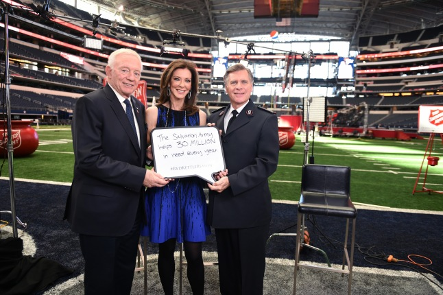Jerry Jones, Charlotte Jones Anderson and Comm. David Jeffrey share their #RedKettleReason. What's yours?