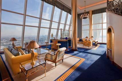 Burj Al Arab - Club Suite Lower level