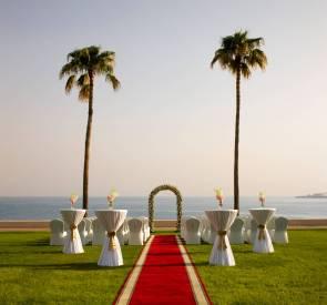 Burj Al Arab- Marina Garden- Wedding Set up