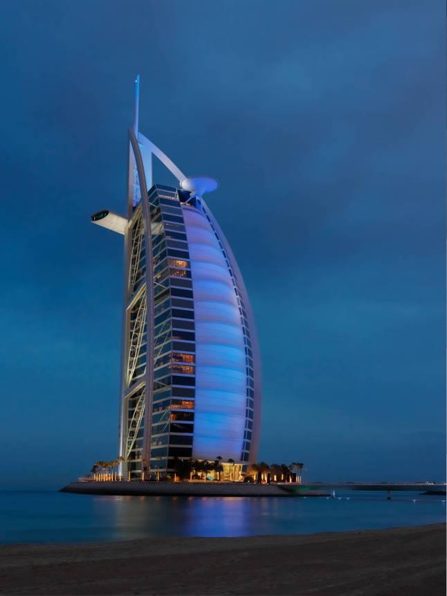 Burj Al Arab - Remarkable Exterior View